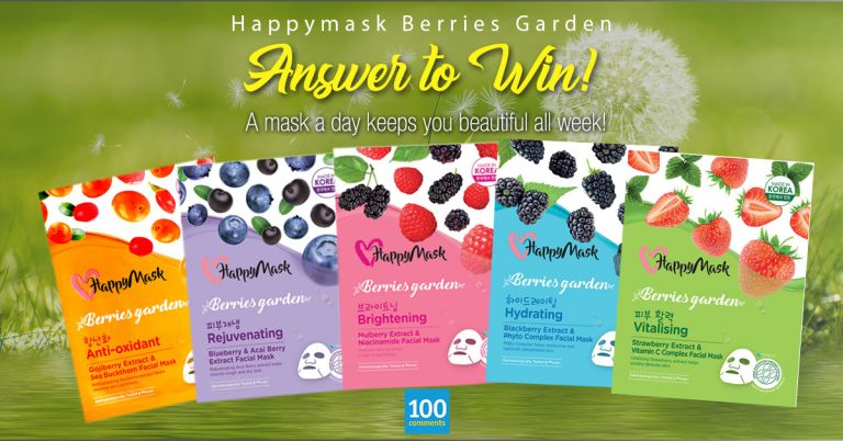HappyMask Berries Garden Contest