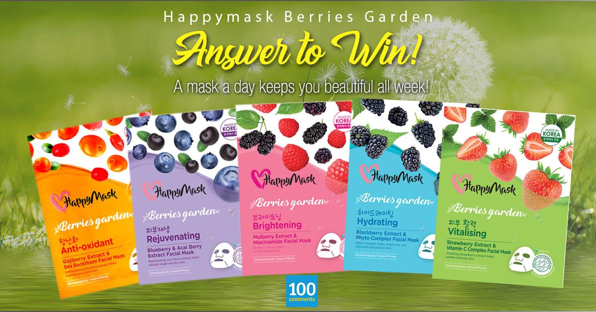 HappyMask Berries Garden Contest
