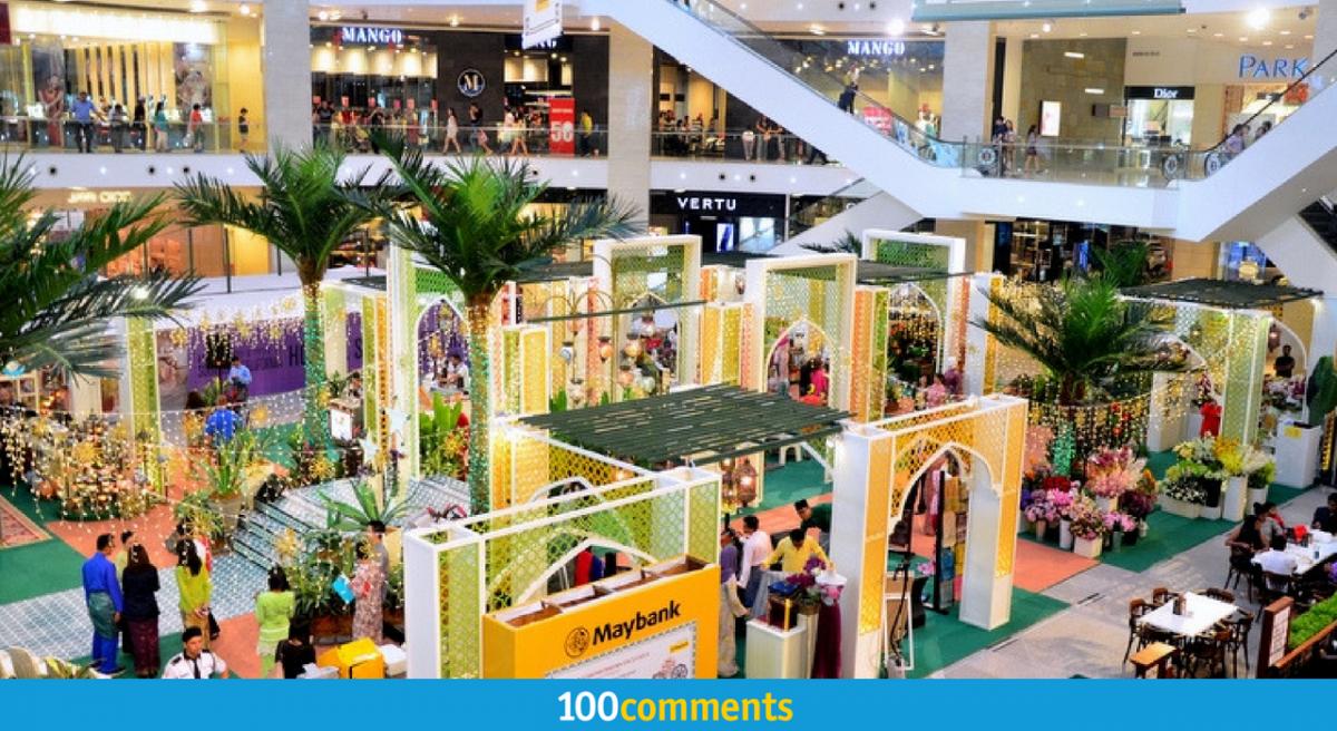 Rasai Suasana Hari Raya Di 8 Pusat Membeli-Belah Di Kuala Lumpur