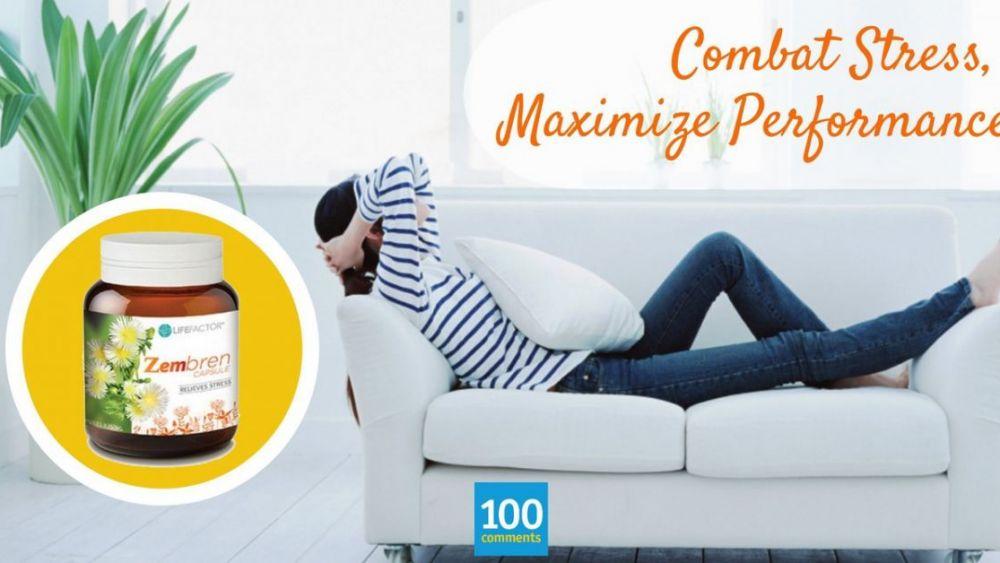 5 Effective Ways To Combat Stress - LIFE FACTOR Zembren