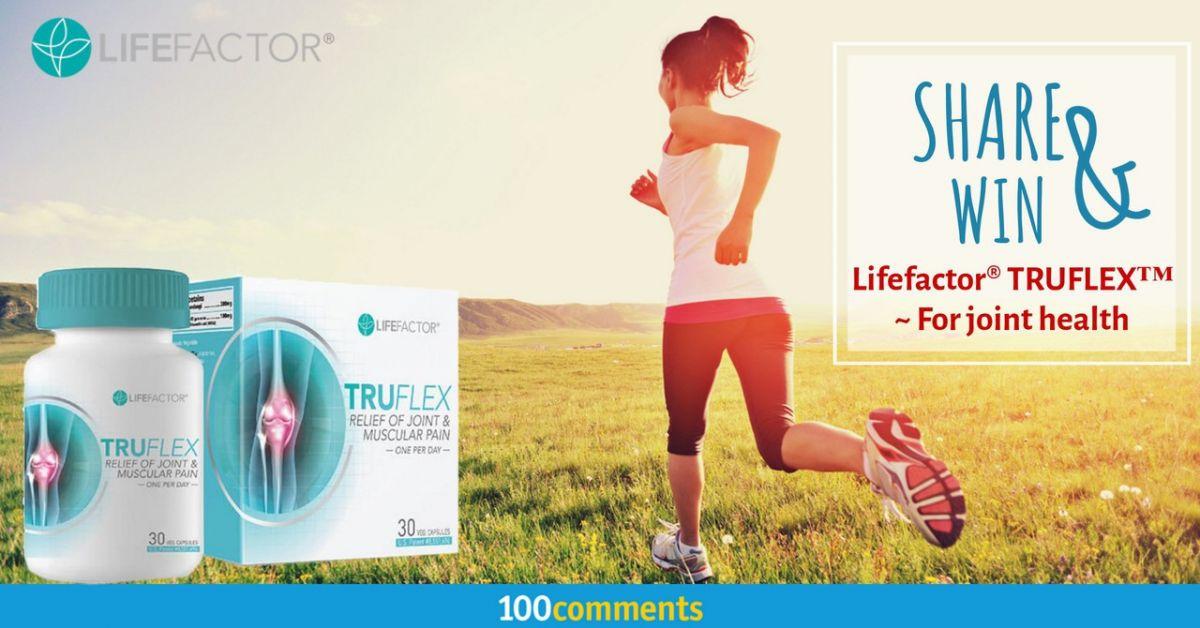 Lifefactor® TRUFLEX™ Contest