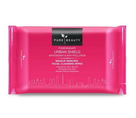 Pomegranate Urban Shield Makeup Remover Wipes