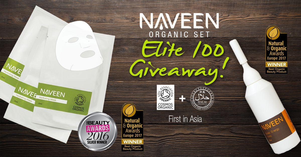 NAVEEN Elite 100 Giveaway