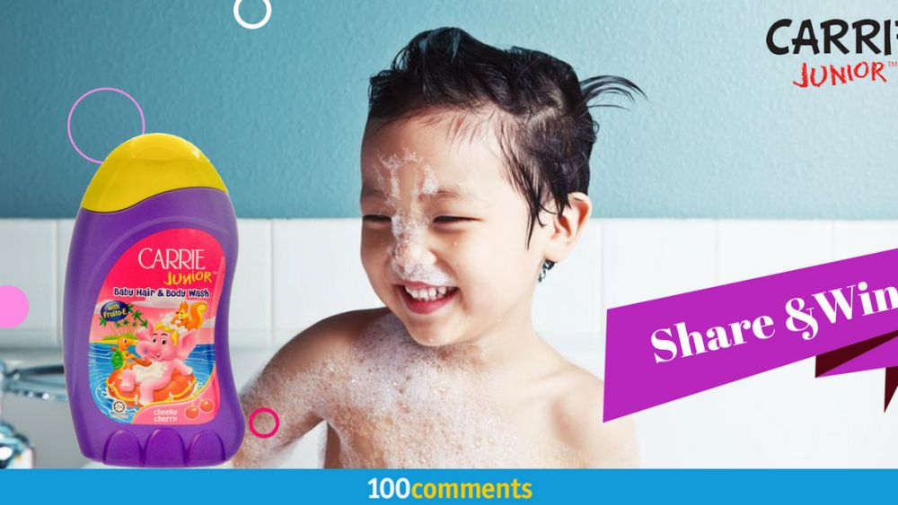 Carrie Junior Baby Hair and Body Wash Contest