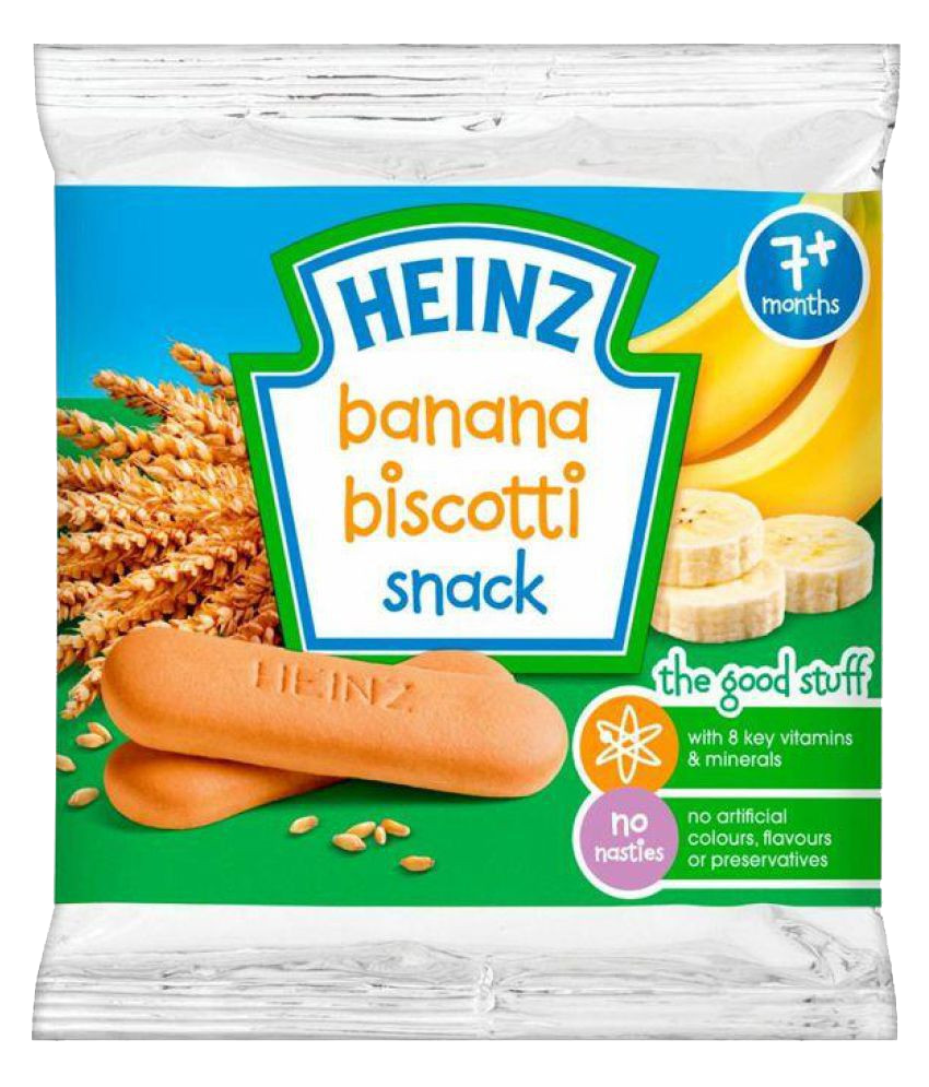 Heinz Banana Biscotti Snack