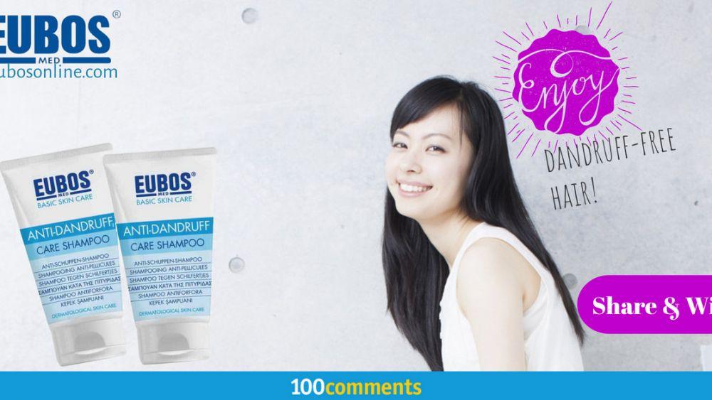 Eubos Anti Dandruff Care Shampoo contest