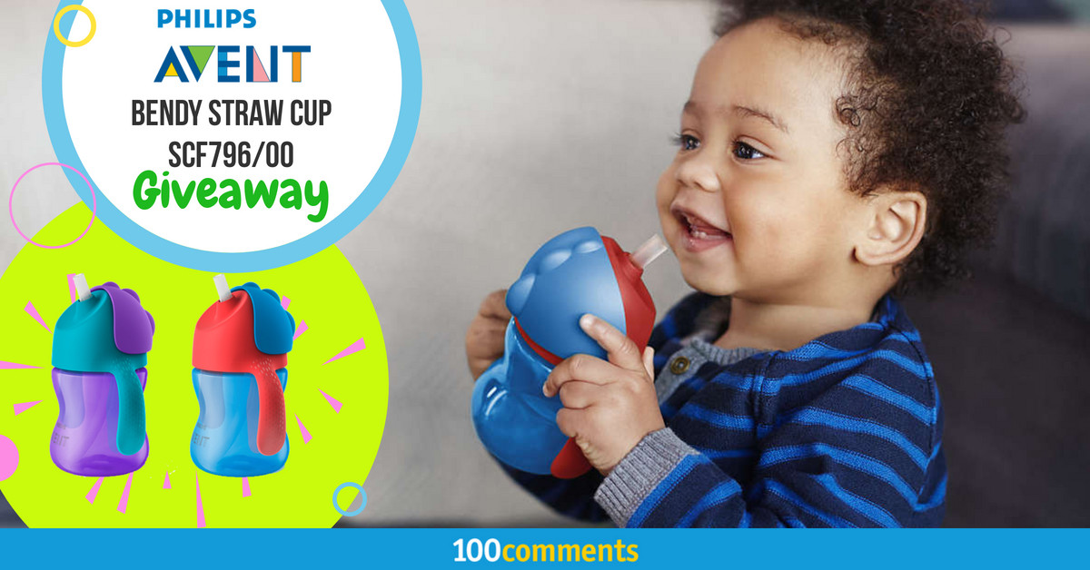 Philips Avent Bendy Straw Cup SCF796/00 Contest