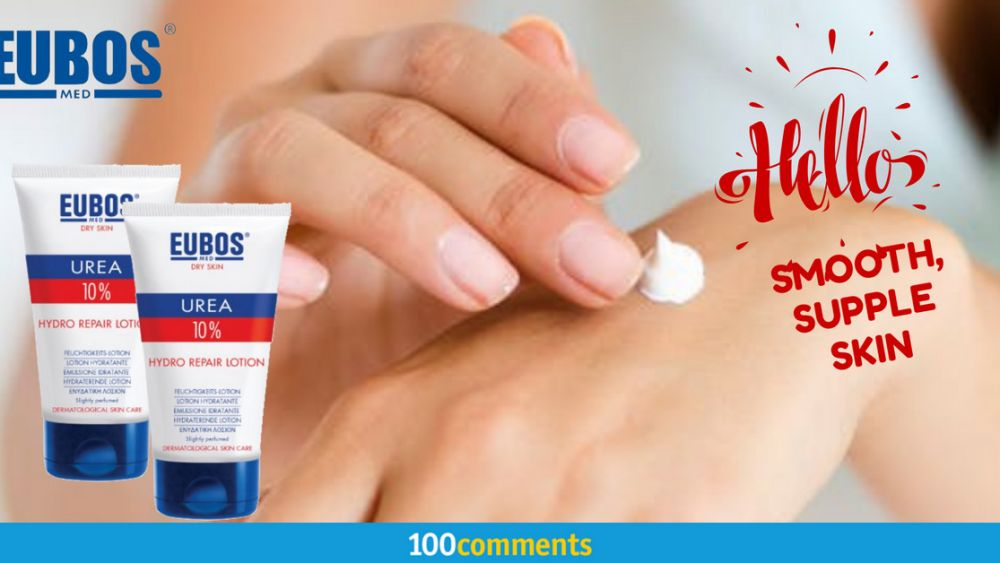 Dry Skin Relief With EUBOS Urea 10% Hydro Repair Lotion