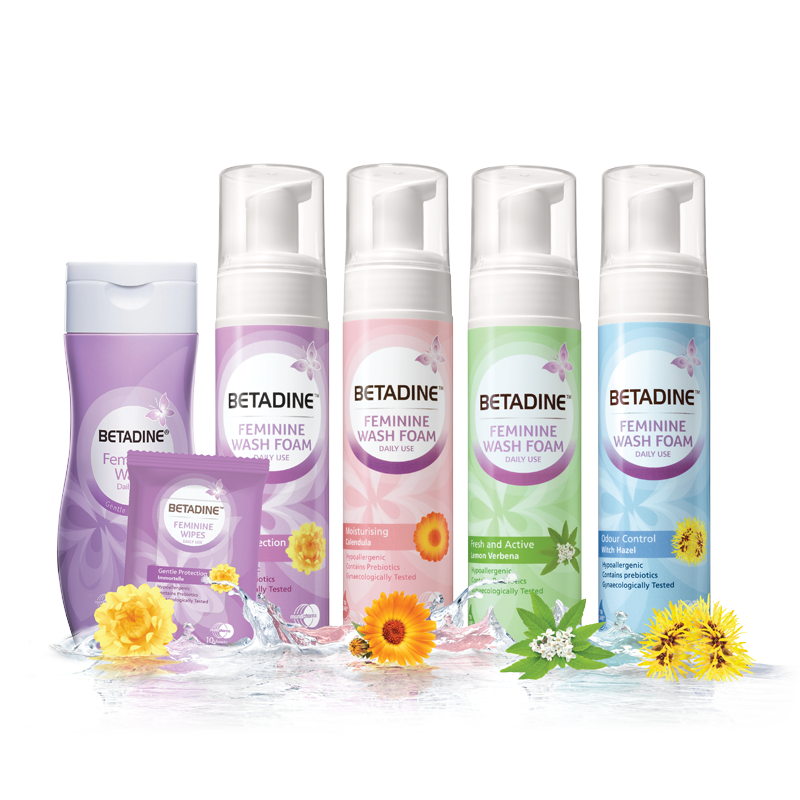 BETADINE Feminine Daily Wash is highly recommended for feminine hygiene