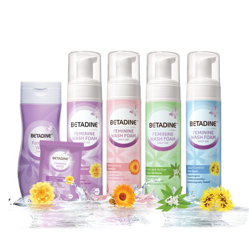 BETADINE Feminine Daily Wash is highly recommended for feminine hygiene