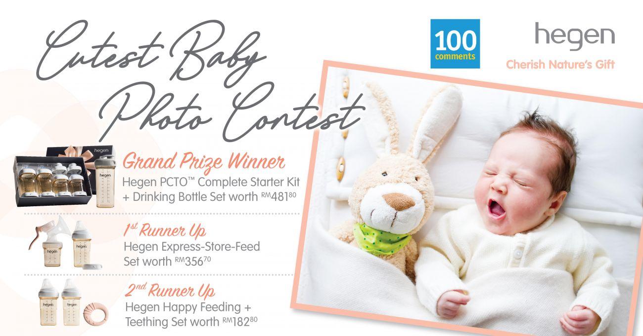 Hegen Baby Photo Contest