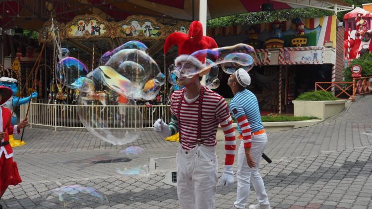 So much soapy bubbles fun!