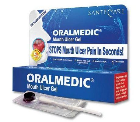ORALMEDIC® mouth ulcer gel