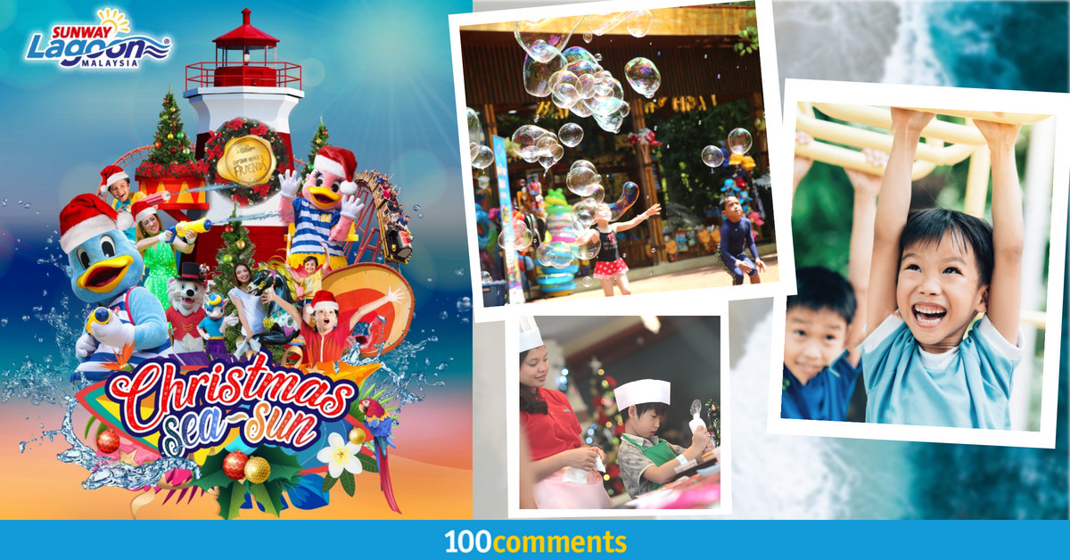 Sunway Lagoon Year-end School Holidays Fun