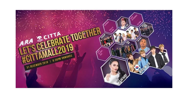 New Year's Eve at CITTA Mall