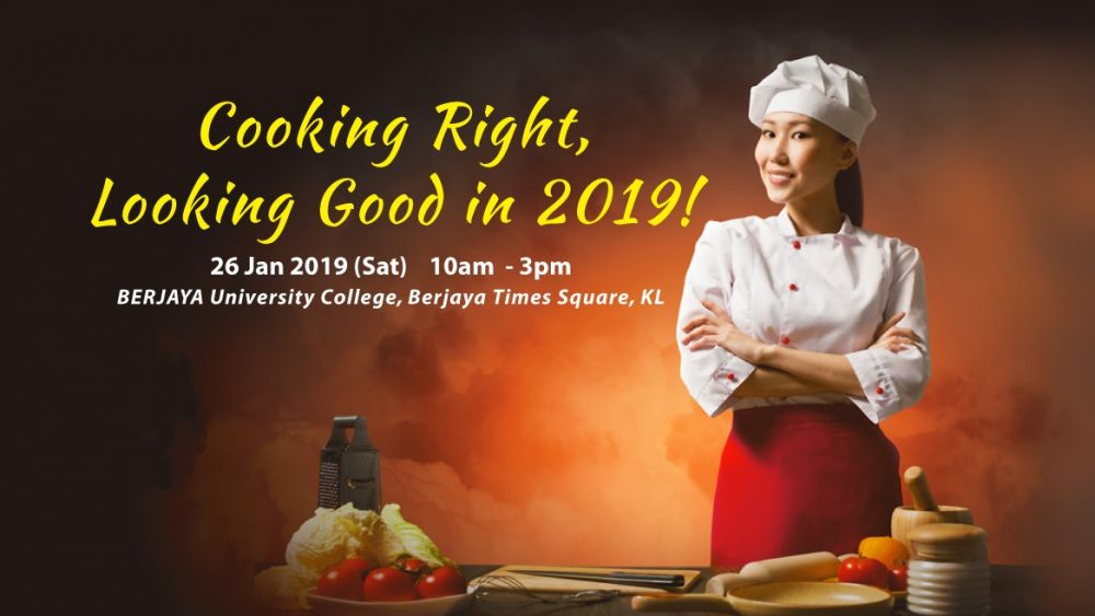 Cooking Right, Looking Good in 2019