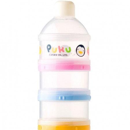 c306f79e8786 PUKU 3 Layers Milk Powder Dispenser Formula Baby Infant Container ...