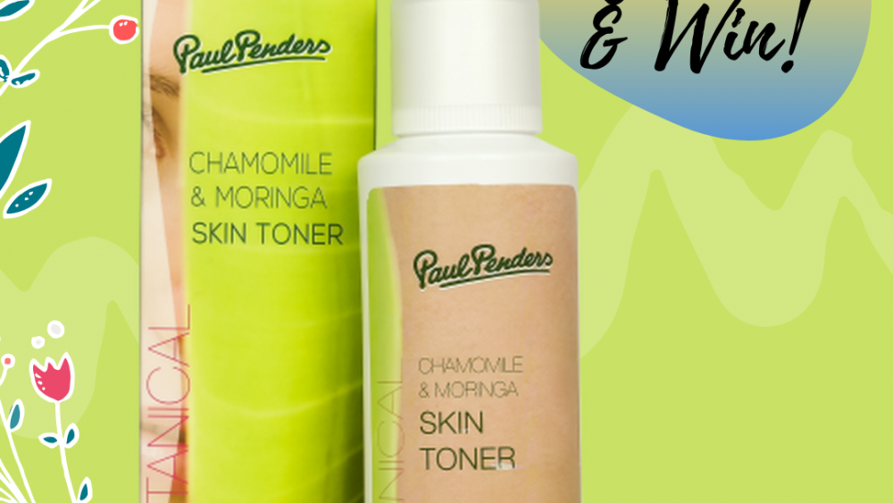 Paul Penders Chamomile Moringa Skin Toner Review & Win Giveaway