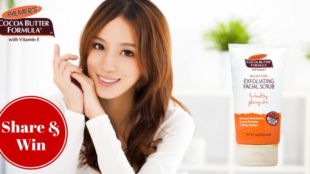 Palmer's Cocoa Butter Formula with Micro Fine Exfoliating Facial Scrub Contest