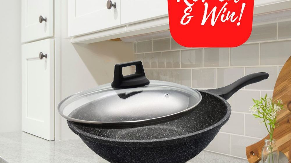 Shogun Japan Granite Plus Titanium Stirfry Wok With Induction Giveaway