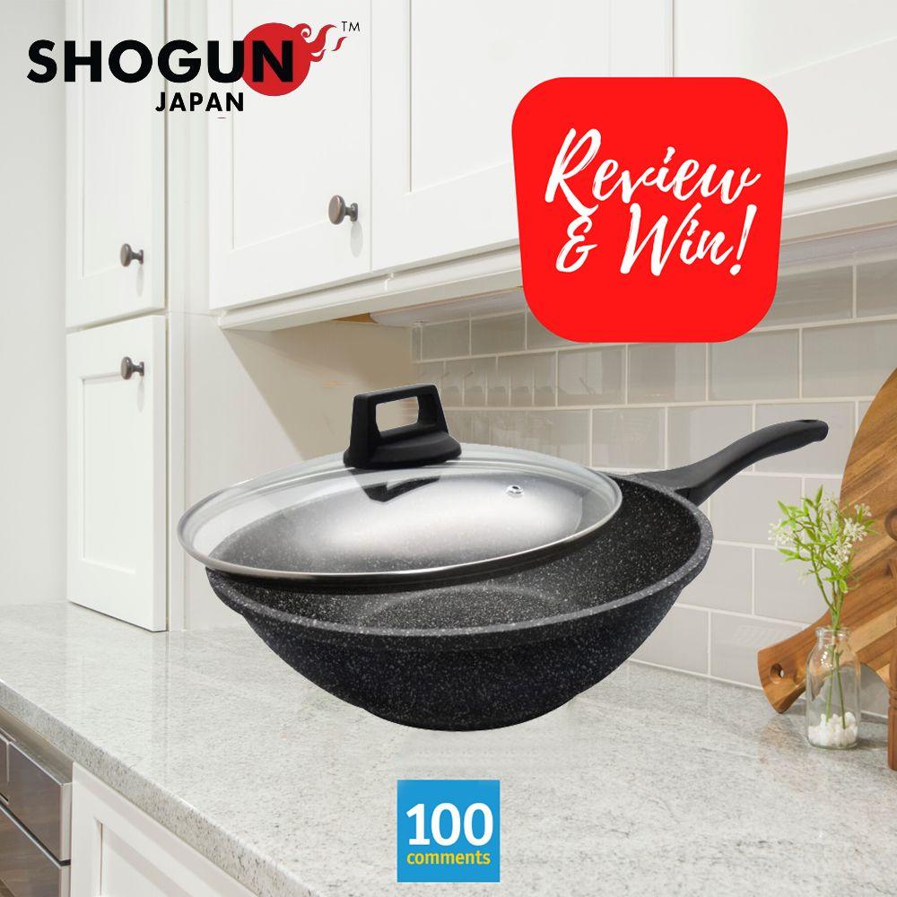 Shogun Japan Granite Plus Titanium Stirfry Wok With Induction Giveaway