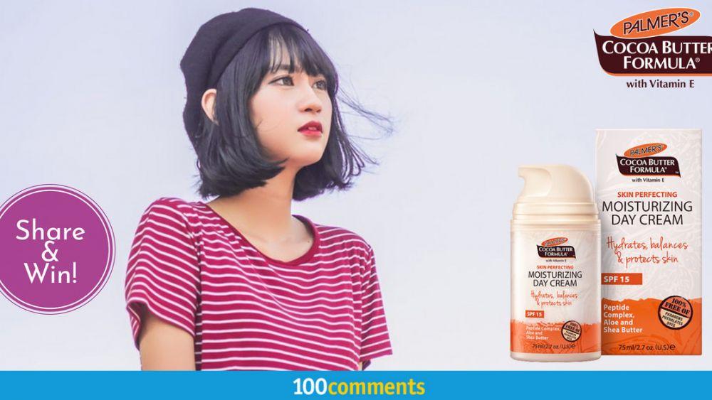 Palmer's Cocoa Butter Formula with Vitamin E Skin Perfecting Moisturizing Day Cream SPF 15 contest