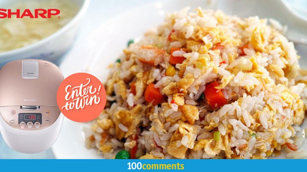 Sharp KS-C186-GL Rice Cooker contest