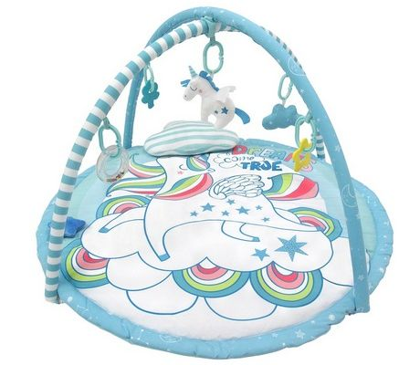 Simple Dimple Unicorn Friends Activity Playgym With Cute Pillow