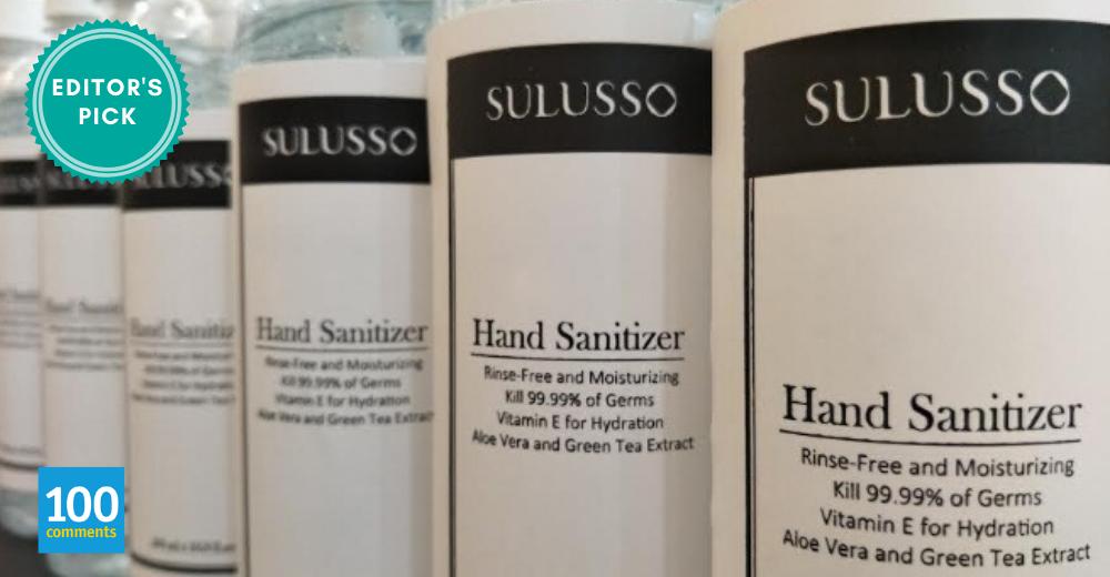 Sulusso hand sanitizer