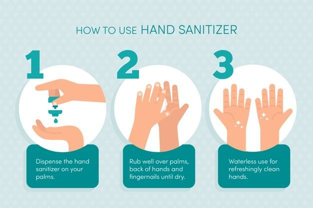 Sulusso how to use a hand sanitizer