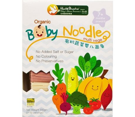 Health Paradise Organic Baby Noodles