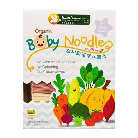 Health Paradise Organic Baby Noodles