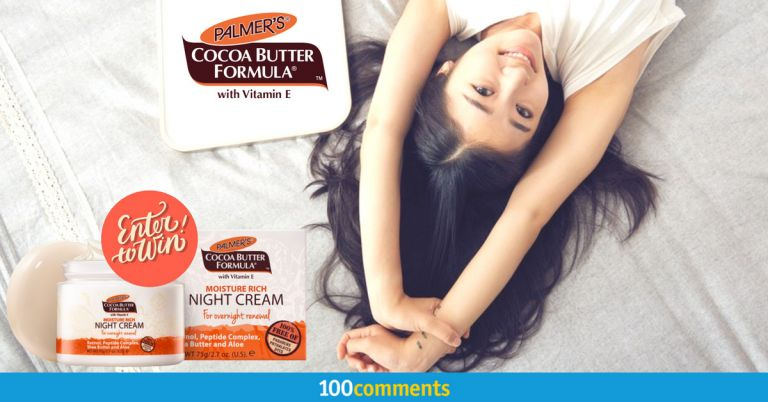 Palmer's Cocoa Butter Formula with Vitamin E Moisture Rich Night Cream contest