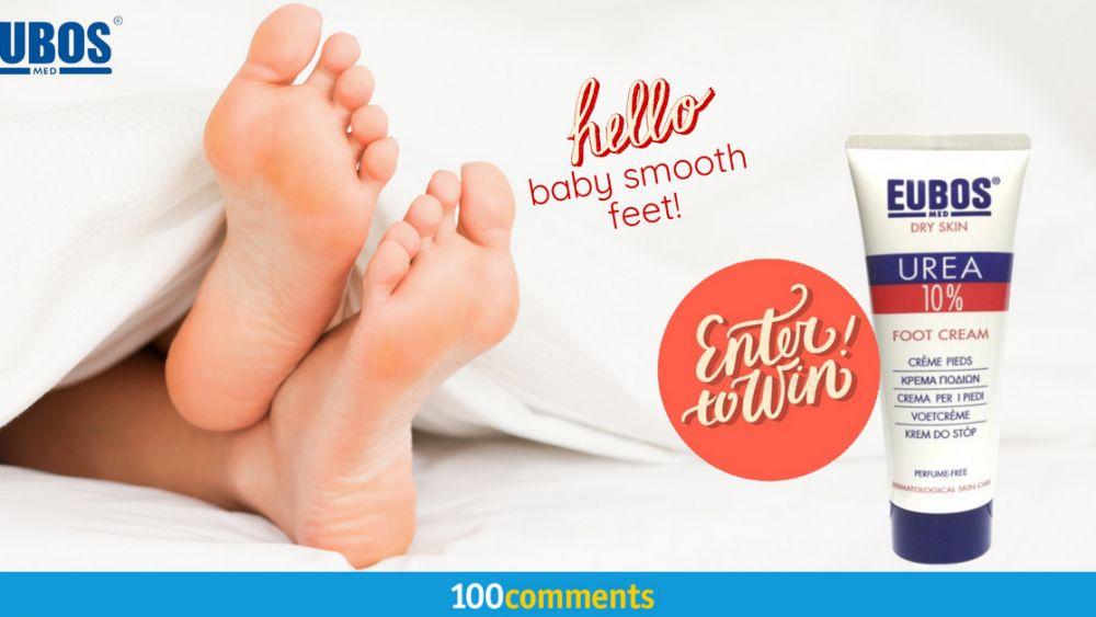 EUBOS Foot Cream Contest