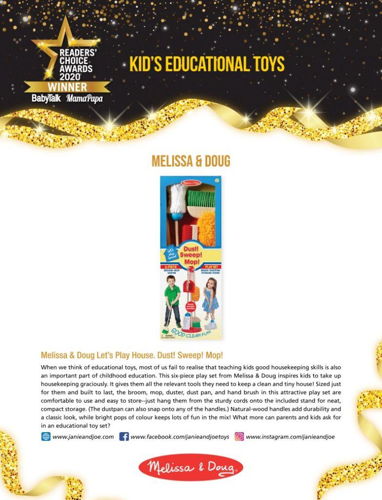 Melissa & Doug Best Kid's Educational Toys