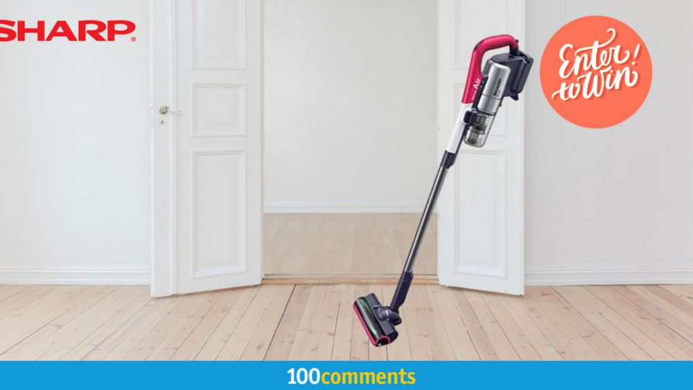 Sharp EC-A1RAS-P Vacuum Cleaner Contest