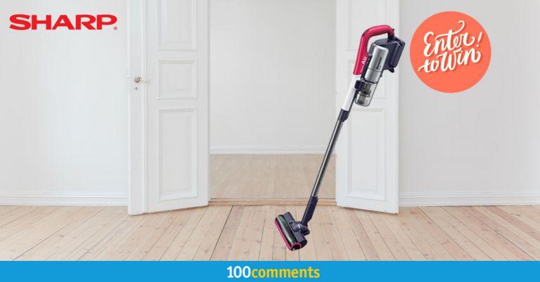 Sharp EC-A1RAS-P Vacuum Cleaner Contest