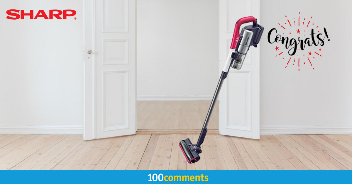 Sharp EC-A1RAS-P Vacuum Cleaner Contest Winner