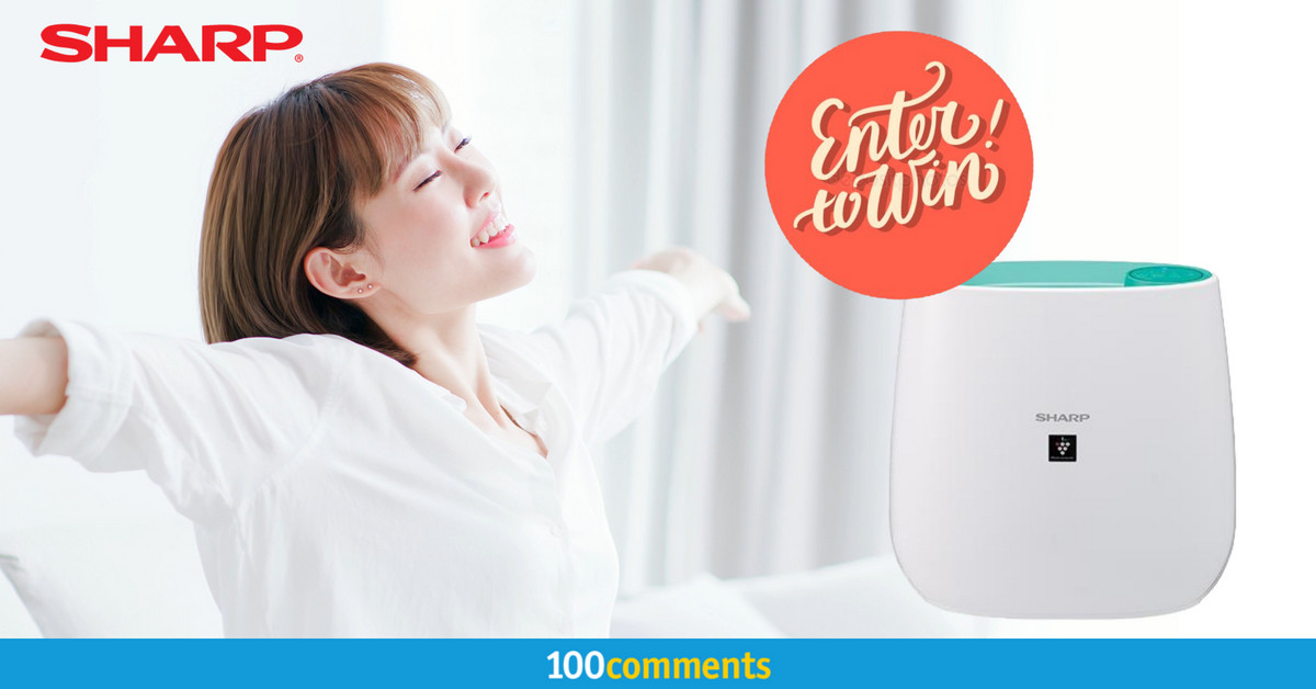 Sharp FP-J30L-A Air Purifier Contest