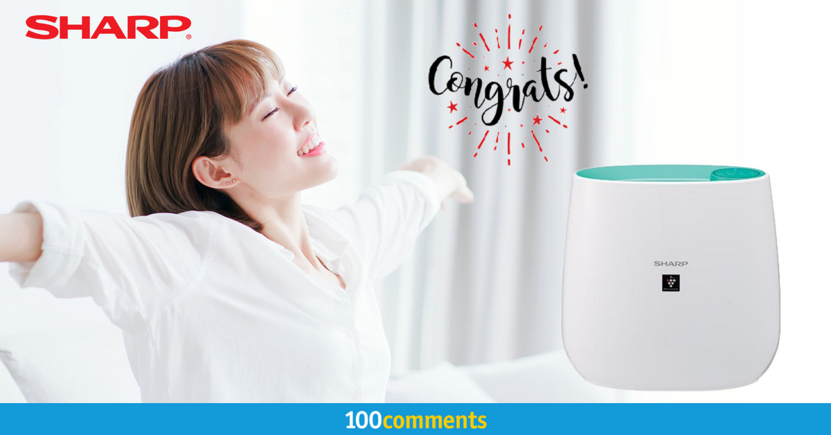 Sharp FP-J30L-A Air Purifier Contest Winner