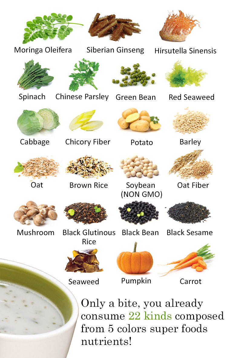 Beauty Talk Oxydrinks Superfoods