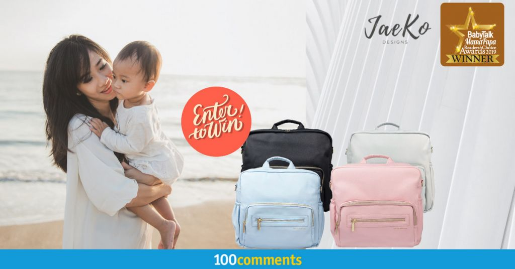 Jae Ko Diaper Bag contest