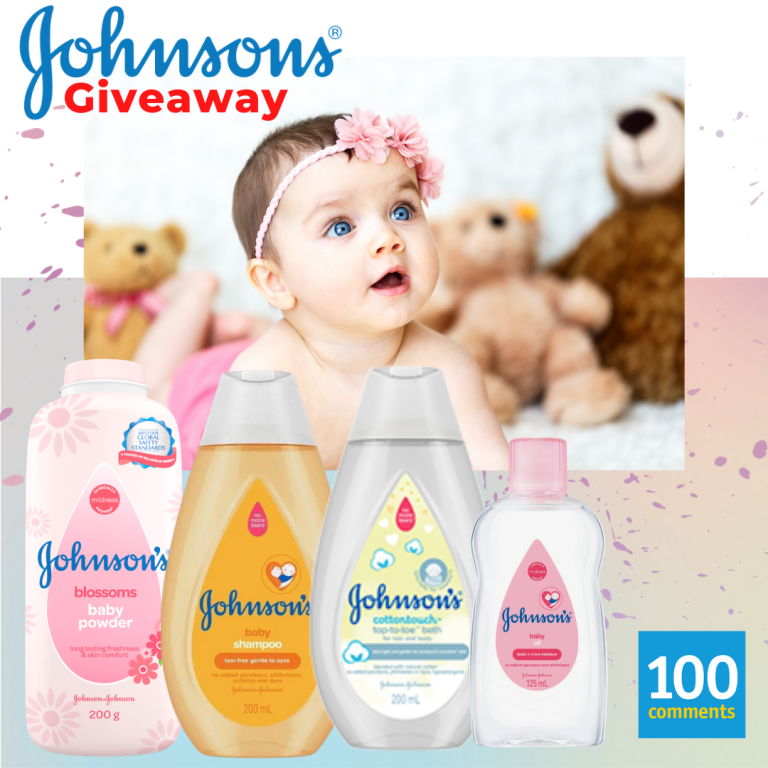 Johnson's Review & Win Giveaway
