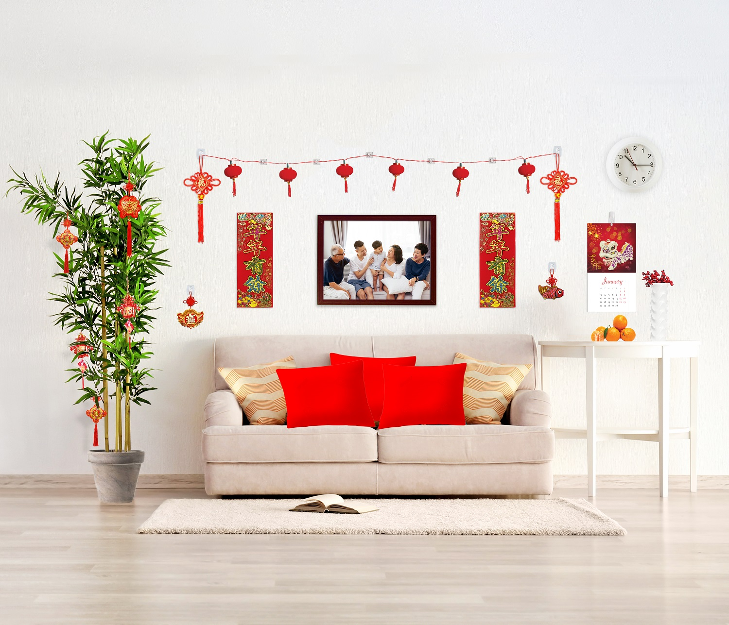 Useful Tips To Prepare Your Home For Cny