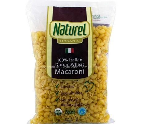 Naturel Organic Macaroni Pasta