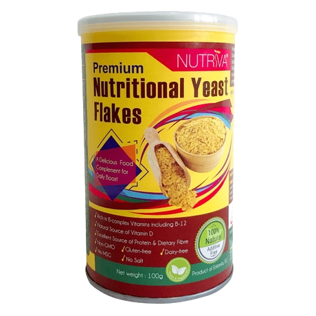 Nutriva Premium Nutritional Yeast Flakes
