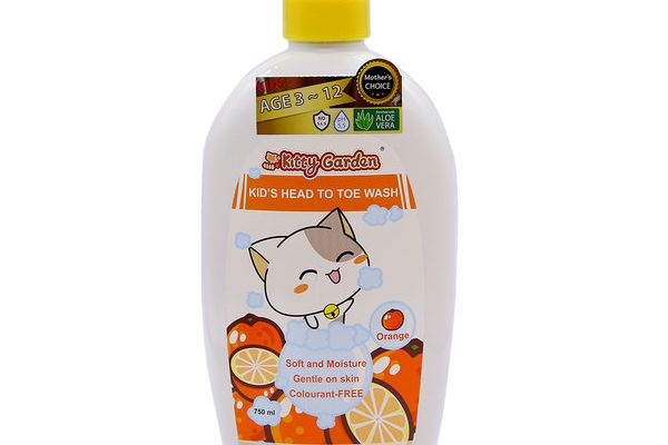 Kitty Garden Kid's Head To Toe Wash
