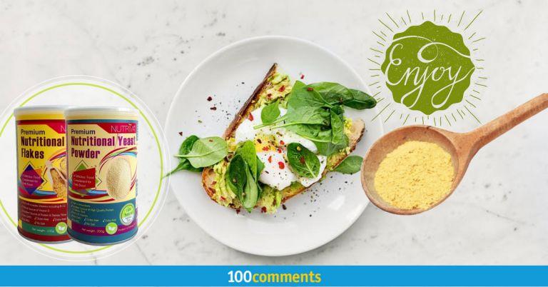 NUTRIVA Premium Nutritional Yeast Featured