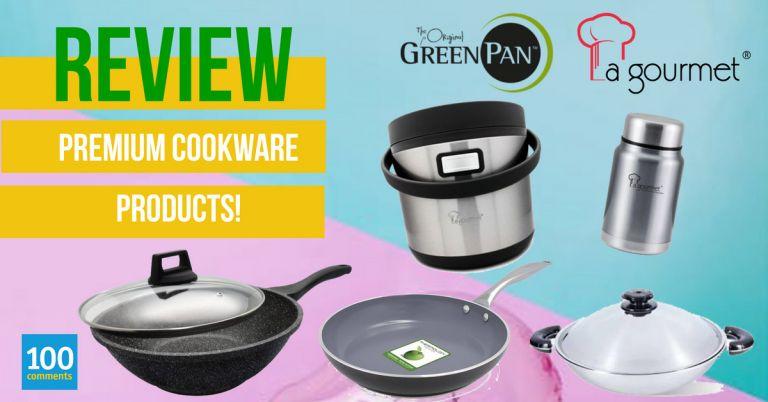 Premium cookware giveaway
