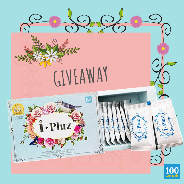 i+Pluz Giveaway